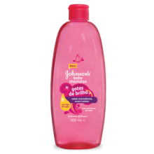 JOHNSON'S® champô gotas de brilho