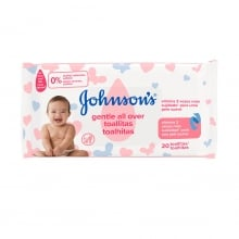 JOHNSON'S® Gentle All Over Toalhitas