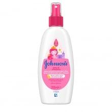 JOHNSON'S® Gotas de Brilho Spray Condicionador para Crianças