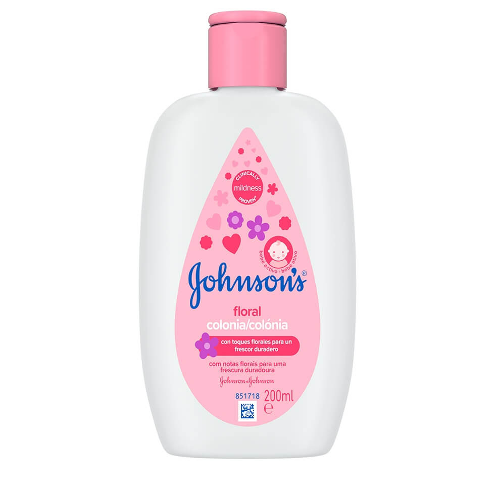 JOHNSON'S® Colónia Floral