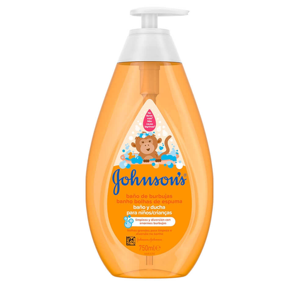 JOHNSON'S® Banho Bolhas de Espuma