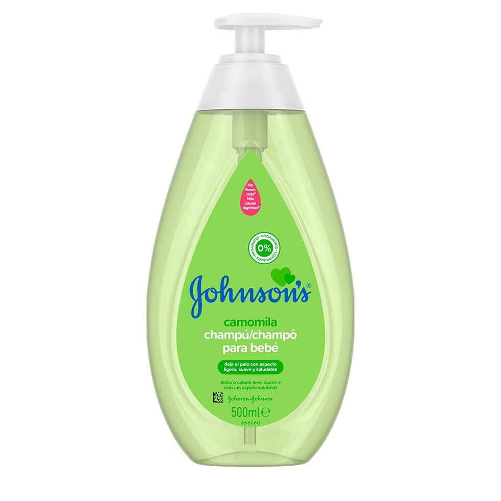 JOHNSON'S® Camomila Champô para Bebé