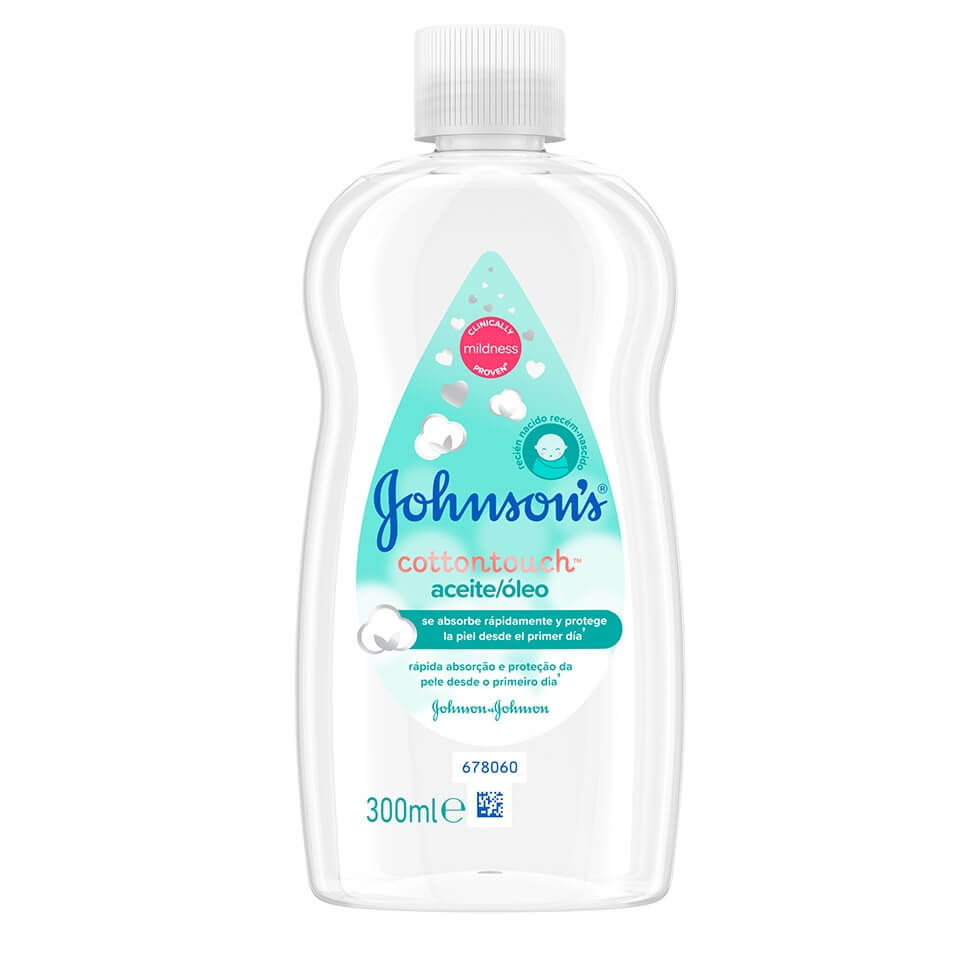 JOHNSON'S® Cottontouch® Óleo