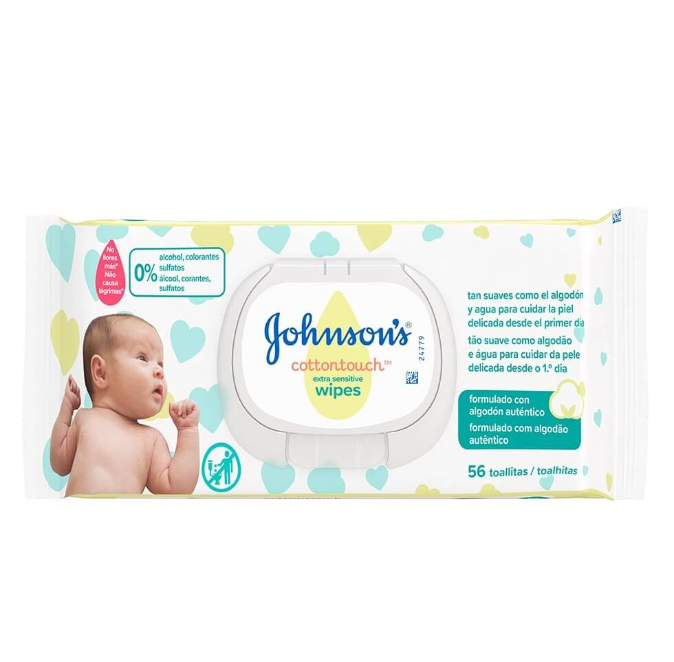 JOHNSON'S® Cottontouch® Toalhitas