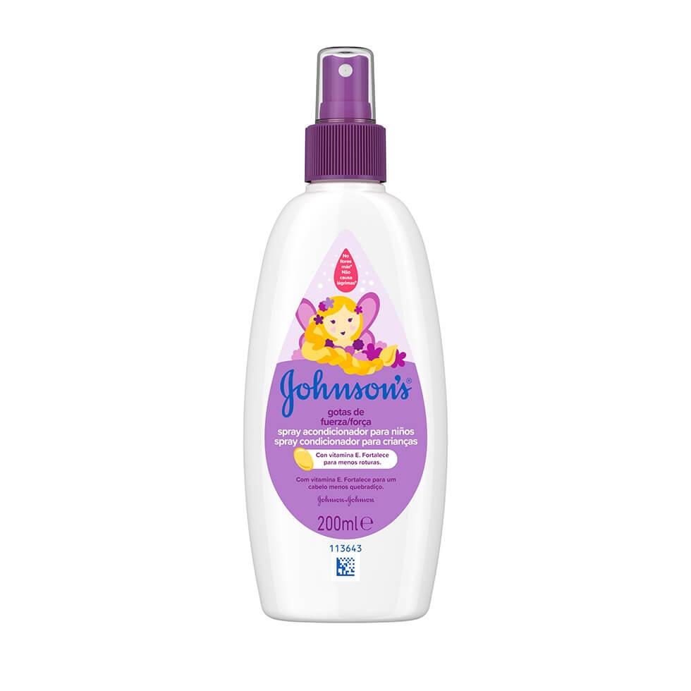 JOHNSON'S® Gotas de Força Spray Condicionador para Crianças