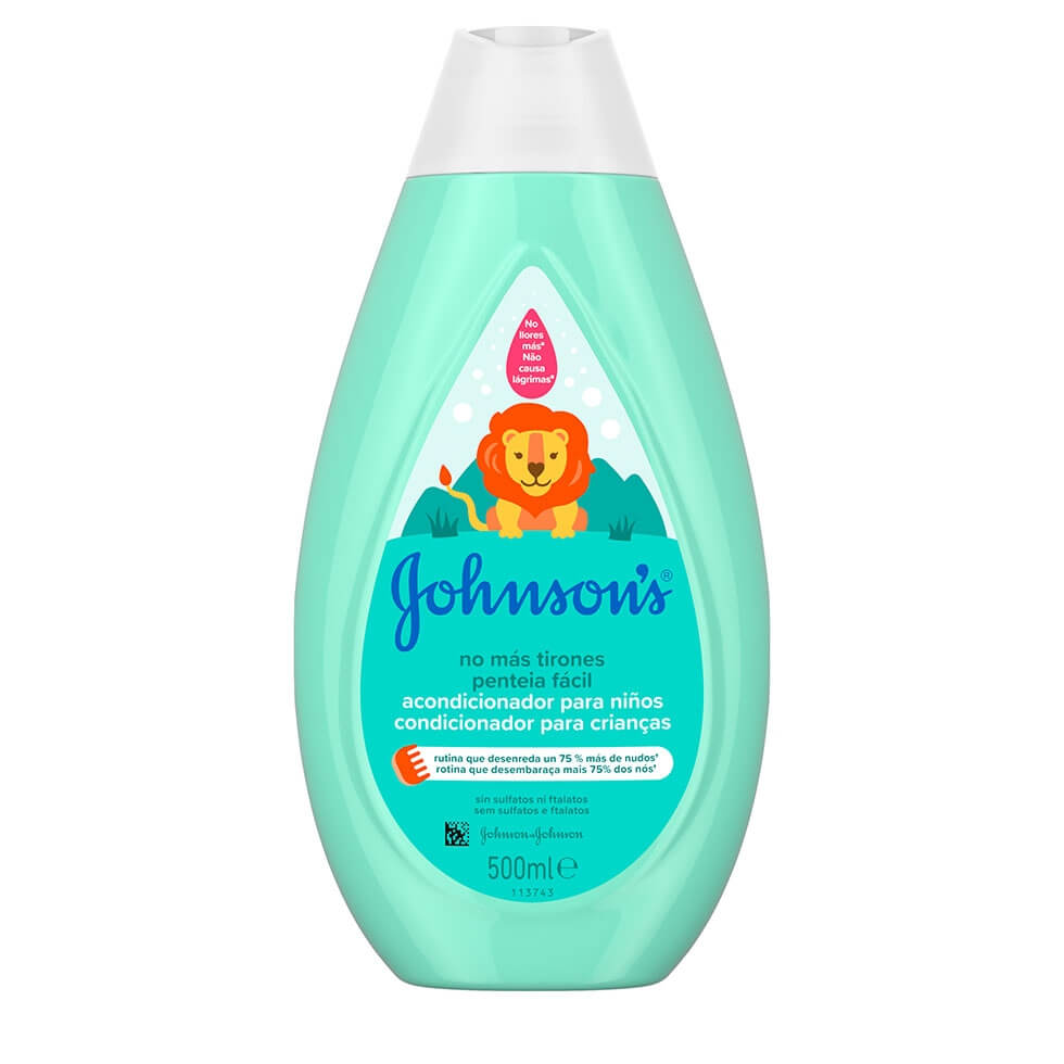 JOHNSON'S® Penteia Fácil Condicionador para Crianças