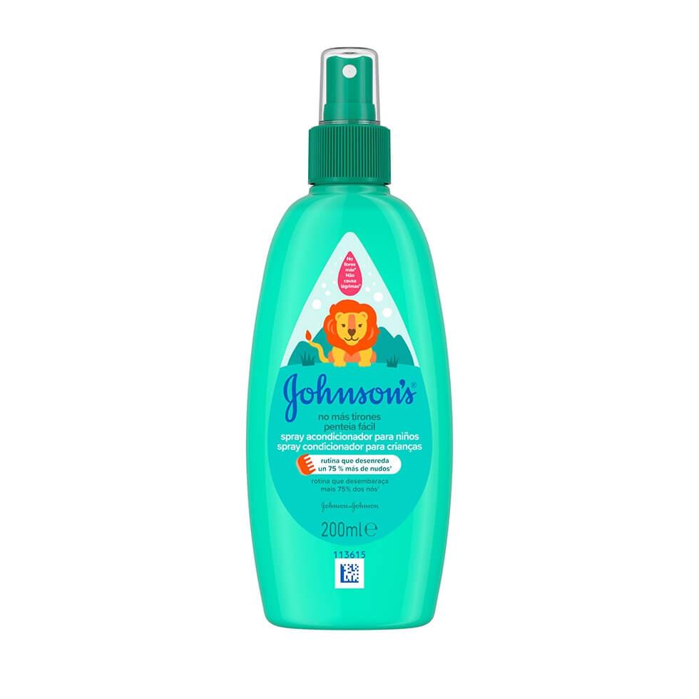 JOHNSON'S® Penteia Fácil Spray Condicionador para Crianças