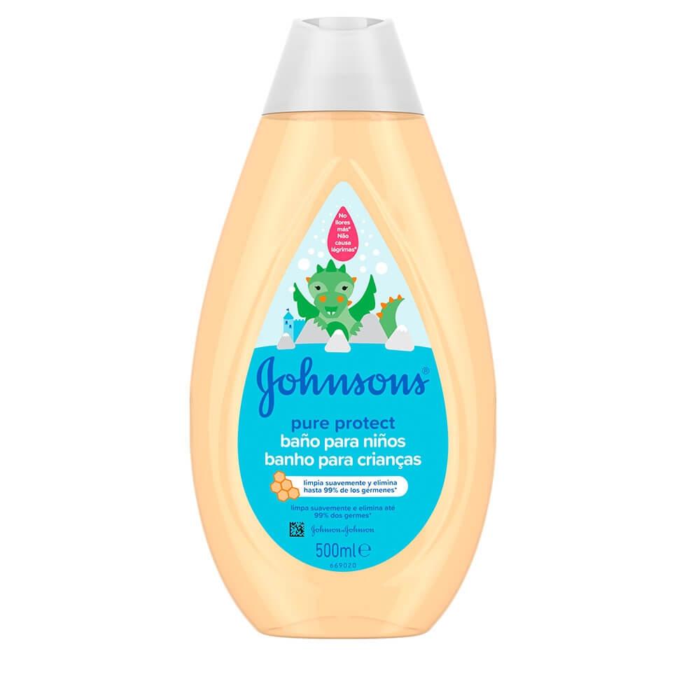 JOHNSON'S® Pure Protect Banho para Crianças